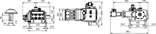 Ultra-High Pressure Pumps UH-100N