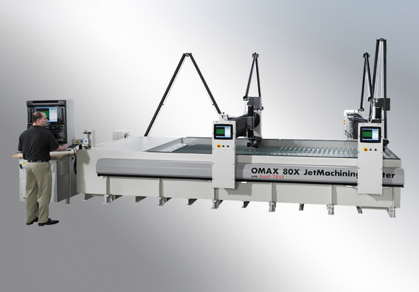 OMAX-80X High Pressure Water Jet Cutting