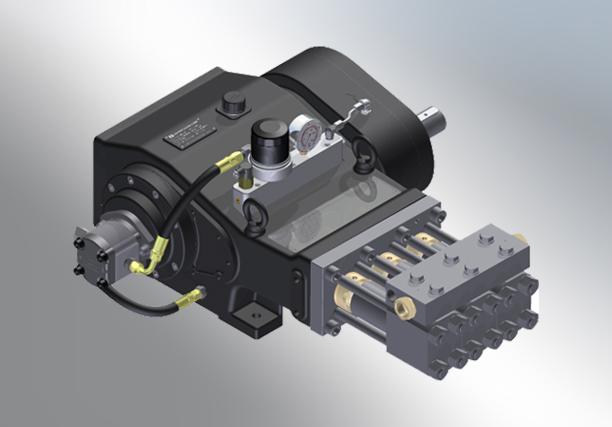 Ultra High Pressure Pumps - OH Precision Ultra High Pressure